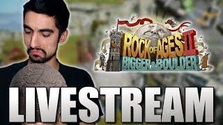 Λιωμένα ρολόγια - Rock of Ages 2 (Livestream)