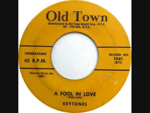 A FOOL IN LOVE-KEYTONES