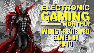 Electronic Gaming Monthly's Worst Reviewed Games of 1999 - Defunct Games