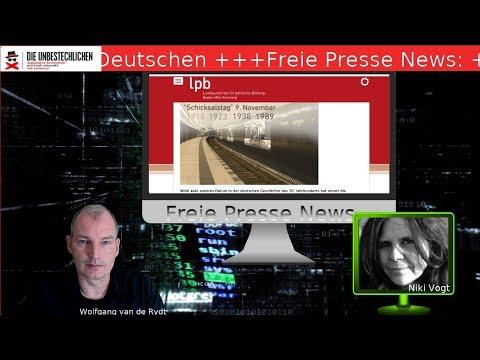 Freie Presse News: Schicksalstag der Deutschen +++ Im Bundestag ist der Teufel los u.a.