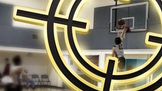 I WENT FOR THE DUNK INGAME! BASKETBALL SEASON #1