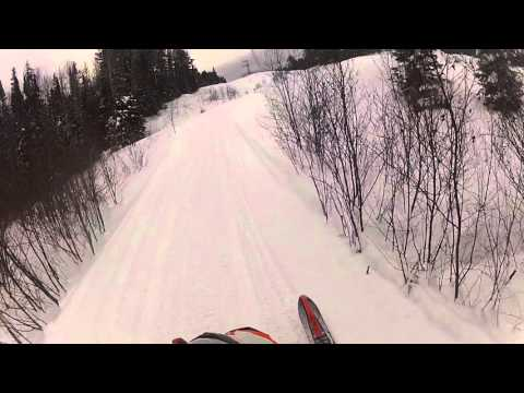 Short ride on the sled
