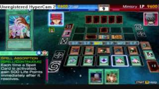 Yugioh Gx Tag Force 3! (Infinite LP, Attack, Damage, And Drawing) *I summon the gods cards*