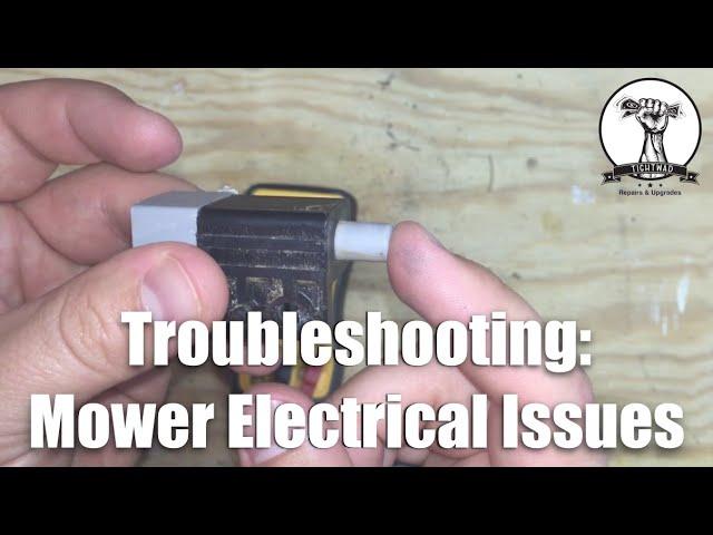 diy troubleshooting lawn mower electrical issues  mower