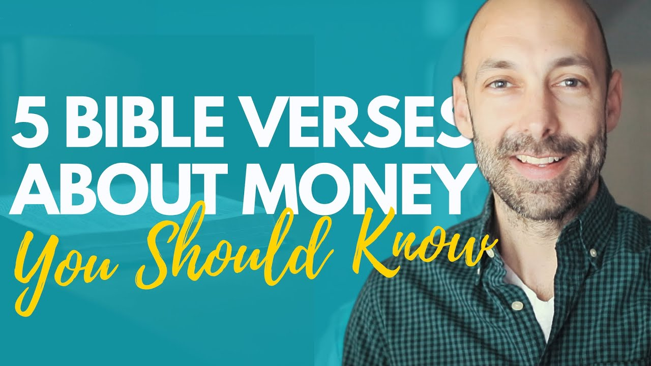 5 Bible verses about money YOU should know [FREE PDF]