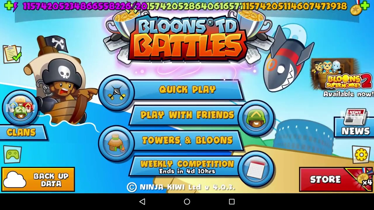 bloons td battles free play