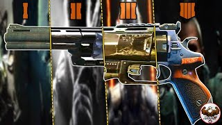 Evolution of Pistols from the CoD Black Ops Series | (BO1-BO4)