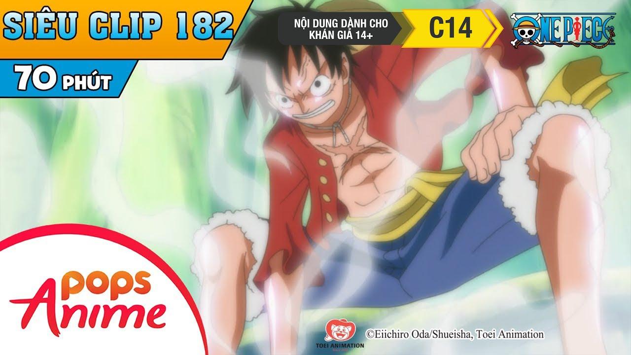 One Piece Siêu Clip Phần 182 - Những Cuộc Phiêu Lưu Của Luffy Và Băng Mũ Rơm - Hoạt Hình Đảo Hải Tặc