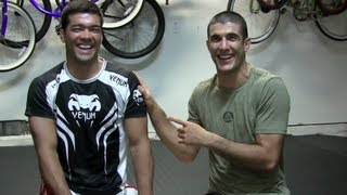 UFC 164: Anthony Pettis SUBMITS Benson Henderson!!! (Gracie Breakdown feat. Lyoto Machida)