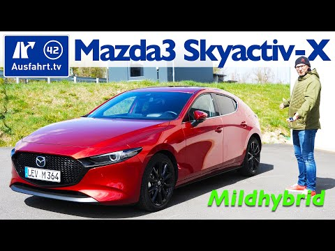 2020 Mazda3 SKYACTIV-X 2.0 M Hybrid Selection - Kaufberatung, Test Deutsch, Review, Fahrbericht