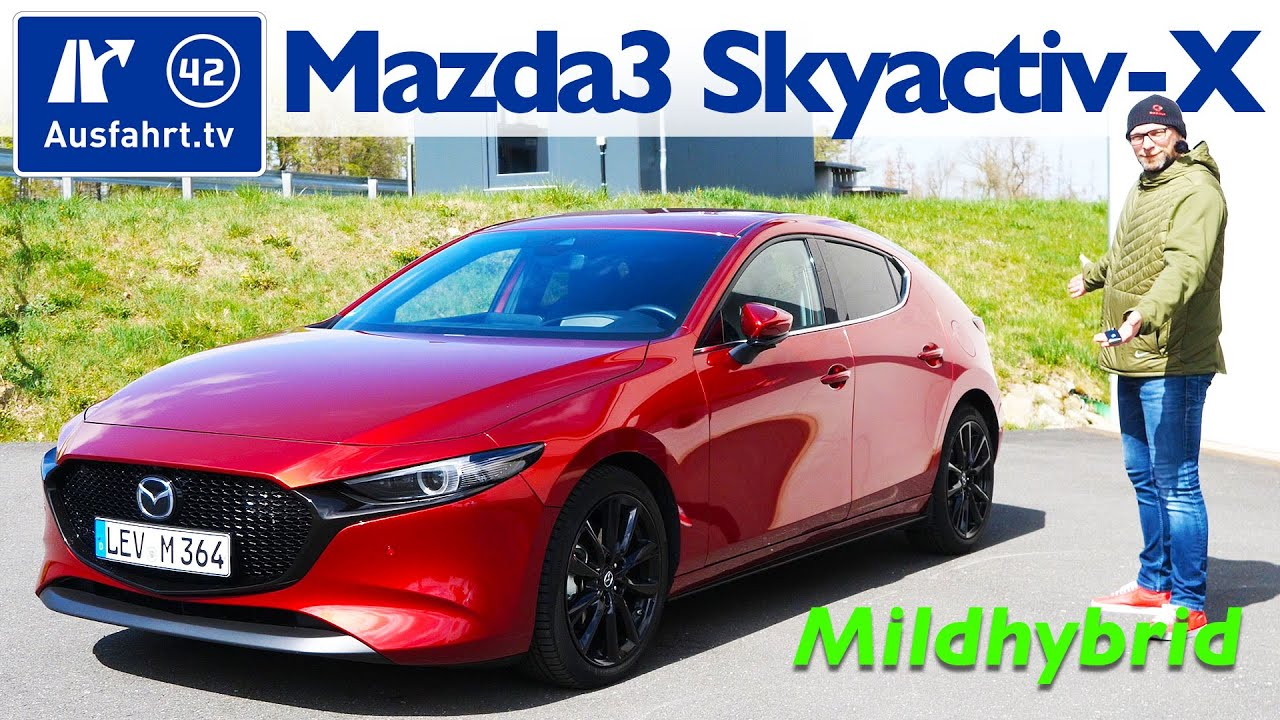 Mazda3 SKYACTIV-X 2.0 M Hybrid Selection