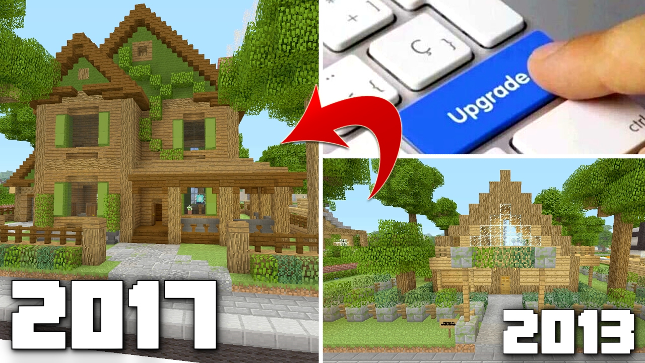 Upgrading My OLD Minecraft Houses! Classic Danville Houses ...