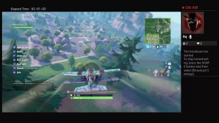 Fortnite ps4 game play #9