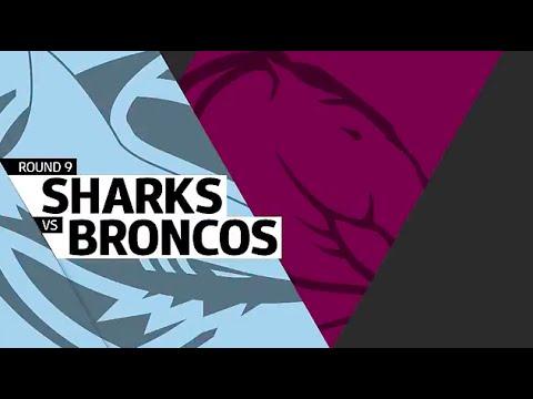 NRL 2016 Round 9 Broncos vs Sharks Highlights