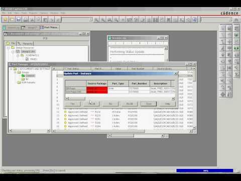 Orcad Capture CIS Part Manager Basic.avi