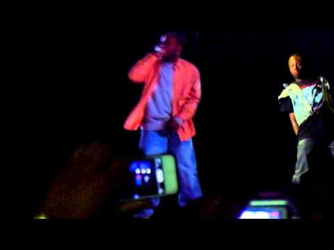 Ol' Dirty Bastard Hologram Shimmy Shimmy Ya Performance (Rock The Bells)