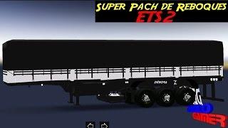 Euro Truck Simulator 2--Super Pack de Reboques Brasileiros!!