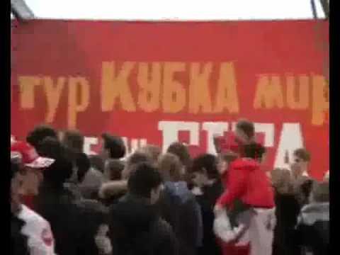 В Москву привезли Кубок мира ФИФА