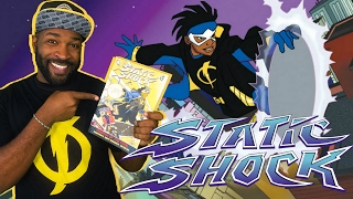 Why I love STATIC SHOCK   Stewdippin