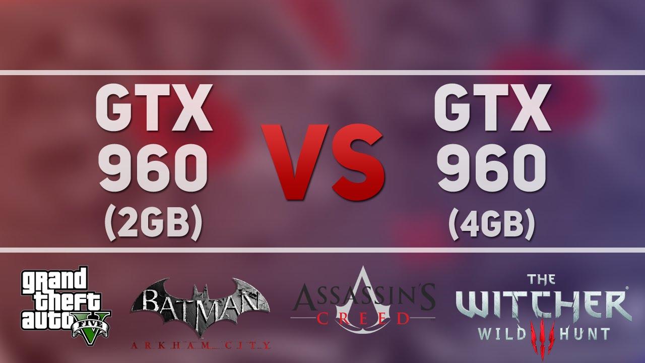 Тест: GTX 960 2 Гб против GTX 960 4 Гб в 7 новых играх.