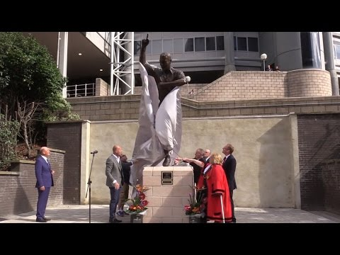 Unveiling Of Alan Shearer Statue At St James' Park, Newcastle