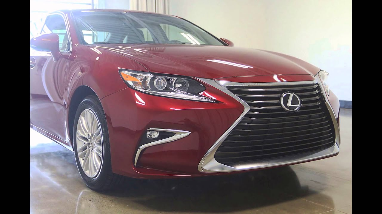 Lexus Is 350 >> 2016 Lexus ES 350 Matador Red Mica - YouTube