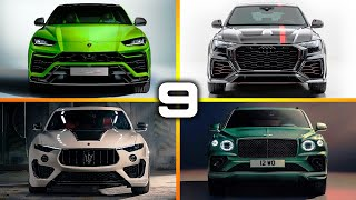TOP 9 FASTEST SUVs IN THE WORLD 2021 - YOU COULDN'T SKIP!