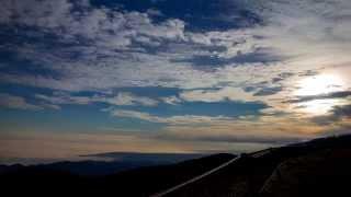 秋の美ヶ原でのタイムラプスと松本近郊での空撮です。