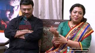 Interview: bhagyaraj and  poornima bhagyaraj  part 1