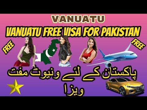 vanuatu visa requirements for pakistani