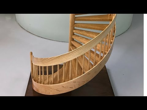 DIY Spiral Staircase 1/6th Scale