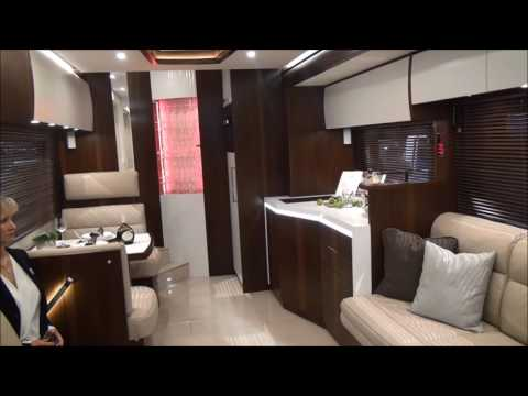 Vario Perfect Platinum - extremely luxurious customised motorhome