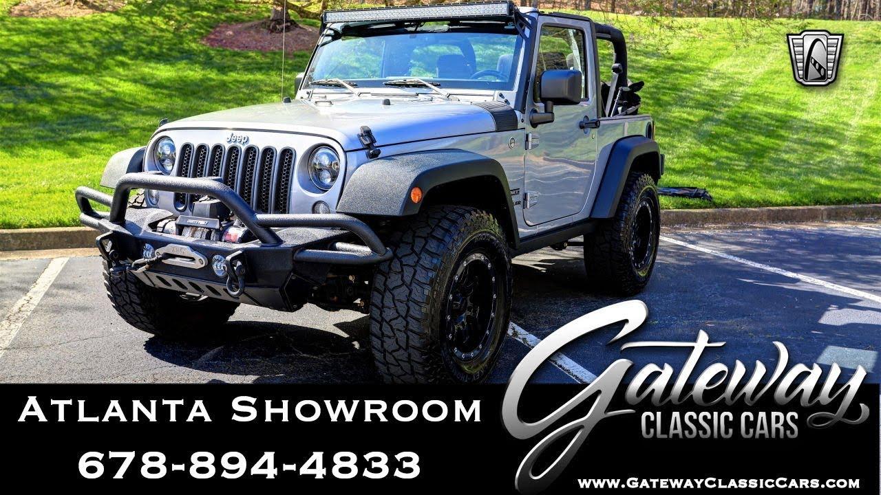 2015 Jeep Wrangler - Gateway Classic Cars of Atlanta #1083