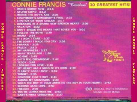 Connie Francis  - Timeless