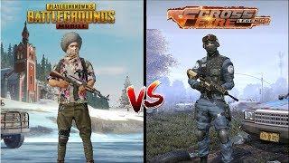 Pubg Mobile VS Crossfire Legends: Last 12 hours Comparison I Zombie Mode