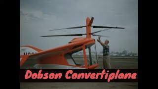 FRANKLIN DOBSON CONVERTIPLANE  EXPERIMENTAL VTOL AIRCRAFT (SILENT FILM) 15384