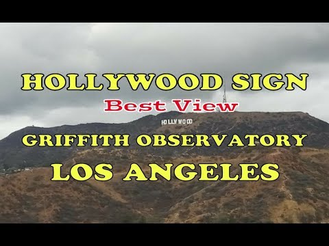 Tour Guide Griffith Observatory Park LA | View Hollywood Sign and Downtown Los Angeles