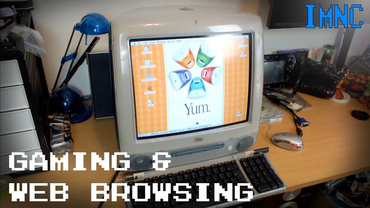 iMac G3 500Mhz Gaming & Internet Browsing (OS 9) | IMNC