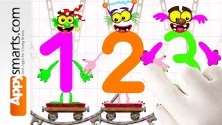 Counting Numbers Game 4 Kids - fun math game for preschool kids by Bini Bambini