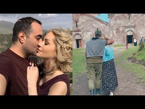 Առանց արցունքների անհնար է նայել. Սոֆյայի ու Աշոտի անչափ հուզիչ լուսանկարը եկեղեցու բակում
