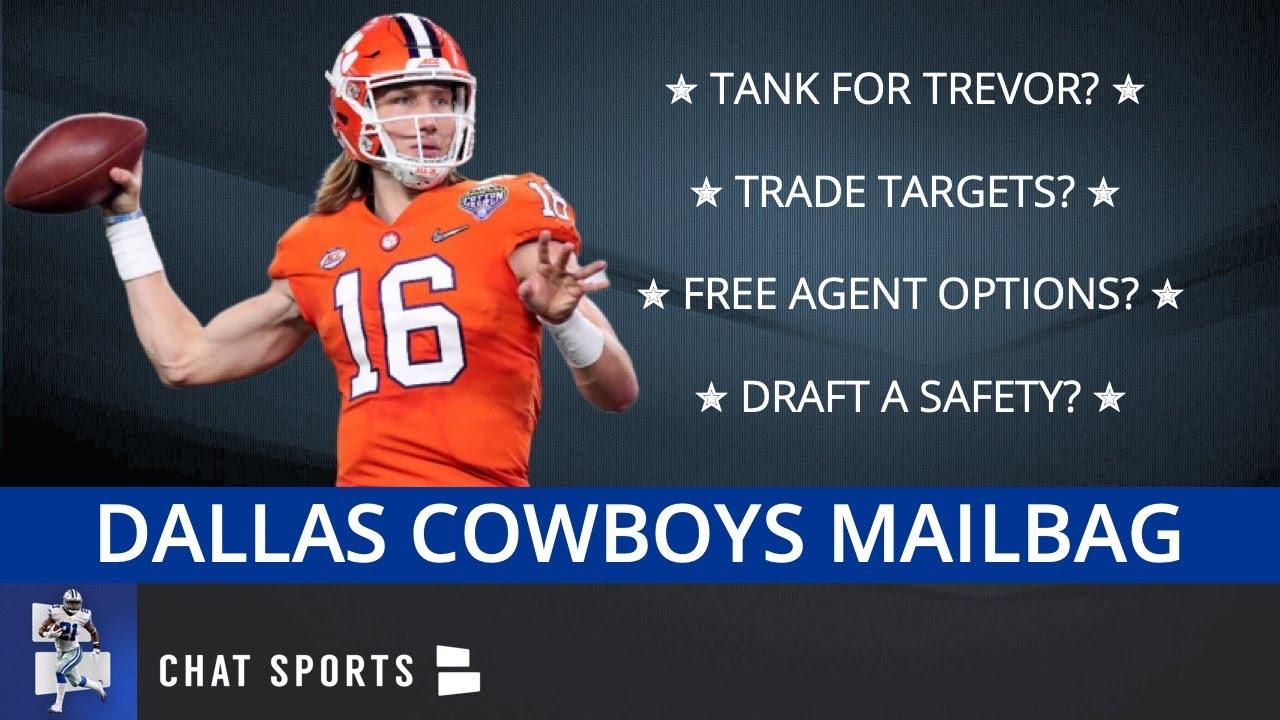 Dallas Cowboys Rumors: Tank For Trevor? Trade Targets? Free Agent Options? Draft Targets | Mailbag