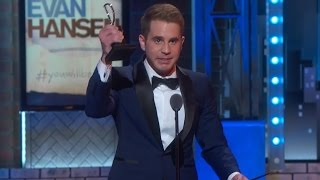 dear evan hansen wins big at tony awards