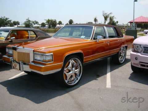 old skool cadillac