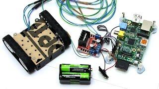 Raspberry Pi Robotics #2: Zumo Robot