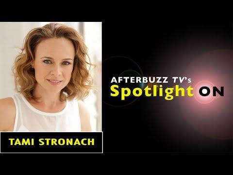 Tami Stronach   AfterBuzz TV's Spotlight On