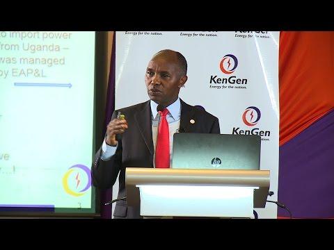 #Mindspeak Presentation by Albert Mugo CEO and MD KenGen @AmugoMugo, @KenGenKenya