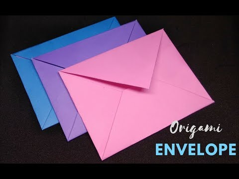 How to Make a Paper Envelope Without Glue Mini Envelope