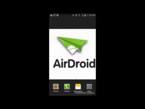 AirDroid: Wirelessly manage, control and access to Android Devices from a web browser