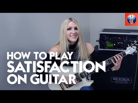 How to Play Satisfaction on Guitar - Rolling Stones Song Lesson