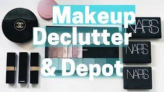 MINIMALISM Makeup Depotting & Declutter
